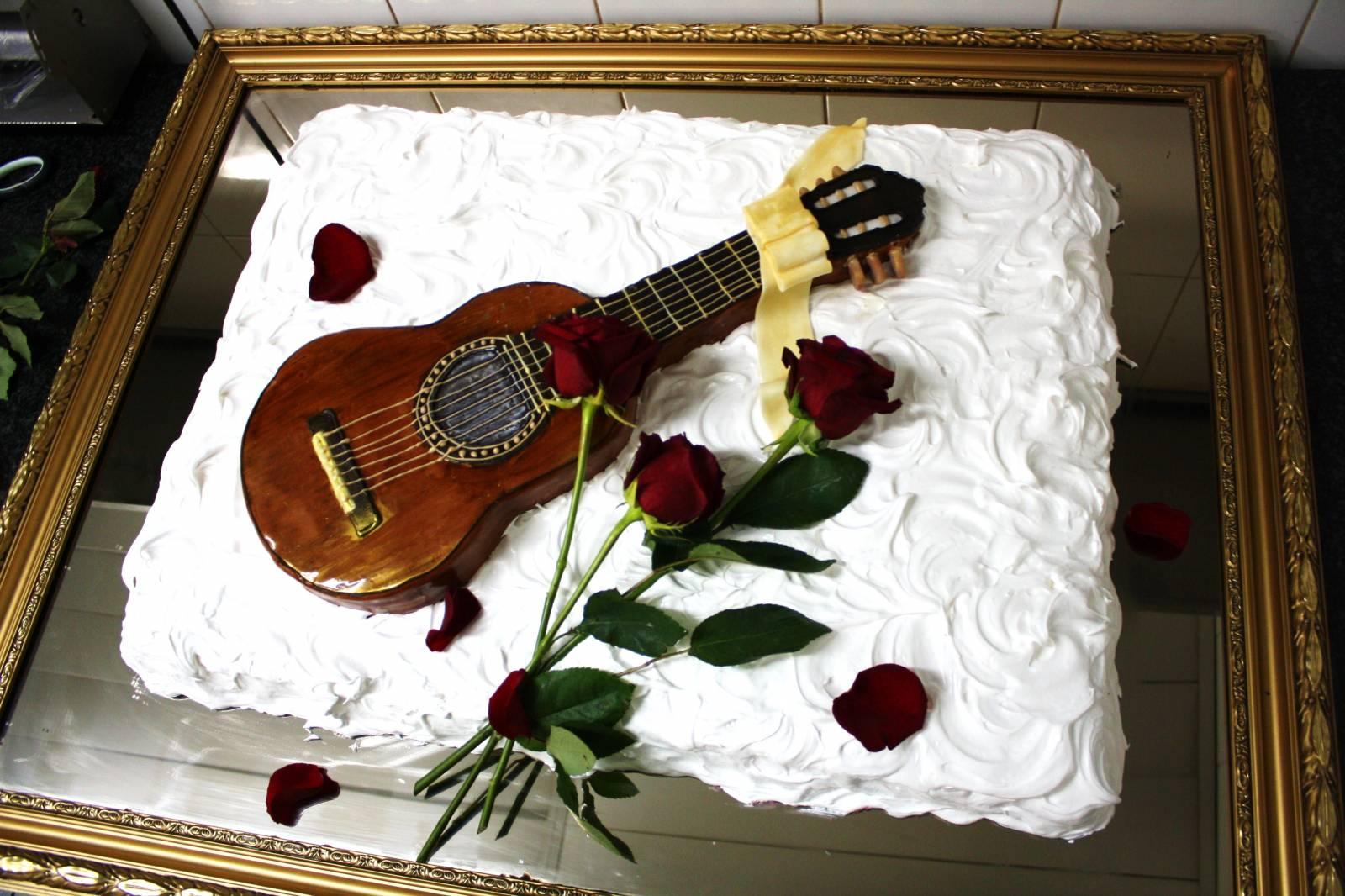 гитара торт фото